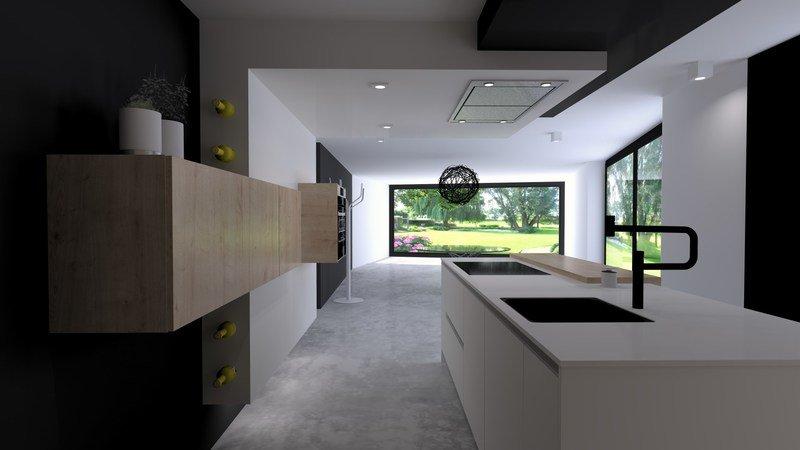 Projet 3D - Réalisation d'une cuisine avec Jeanfils à Liège