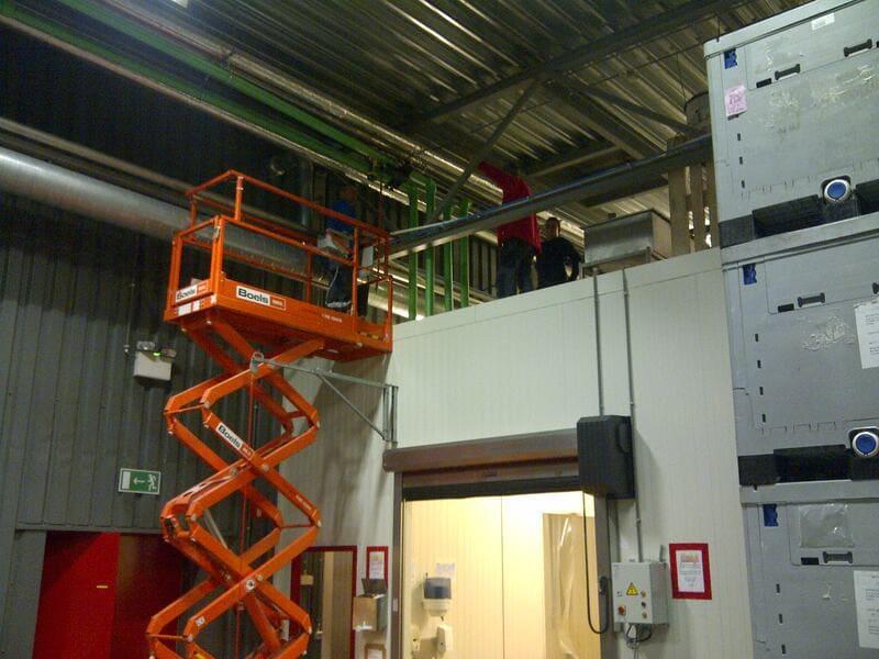 Projet dans le secteur public - Chauffage avec Jeanfils à Liège