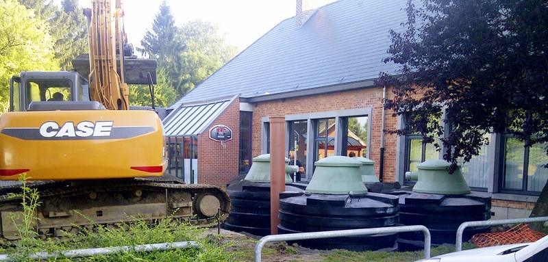Réalisation d'un système de chauffage à pellets - Jeanfils à Verlaine (Liège)