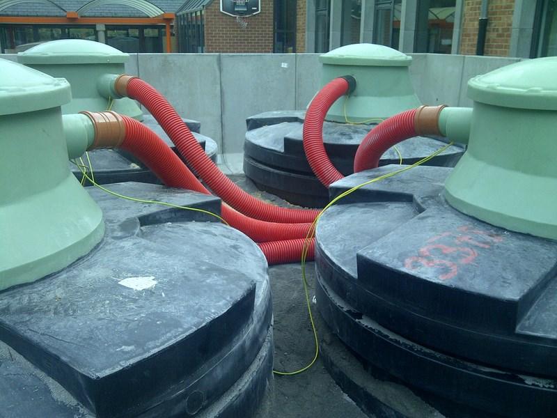 Réalisation d'un système de chauffage à pellets - Jeanfils à Liège (Verlaine)