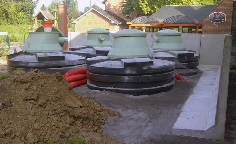Réalisation d'un système de chauffage à pellets - Jeanfils à Liège