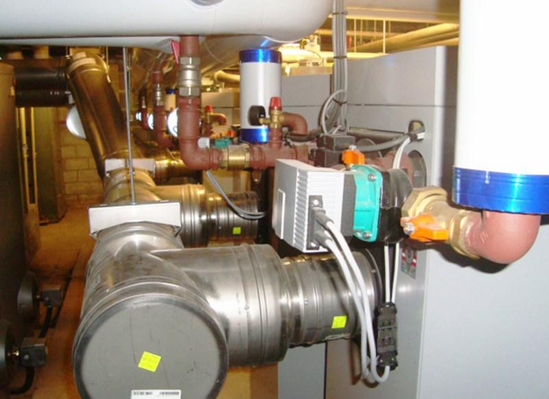 Réalisation d'un système de chauffage à pellets