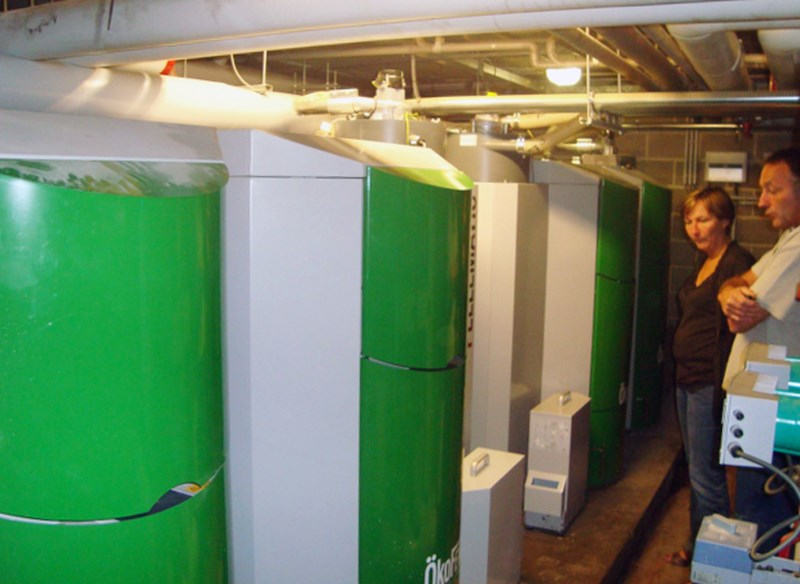Réalisation d'un système de chauffage à pellets - Jeanfils