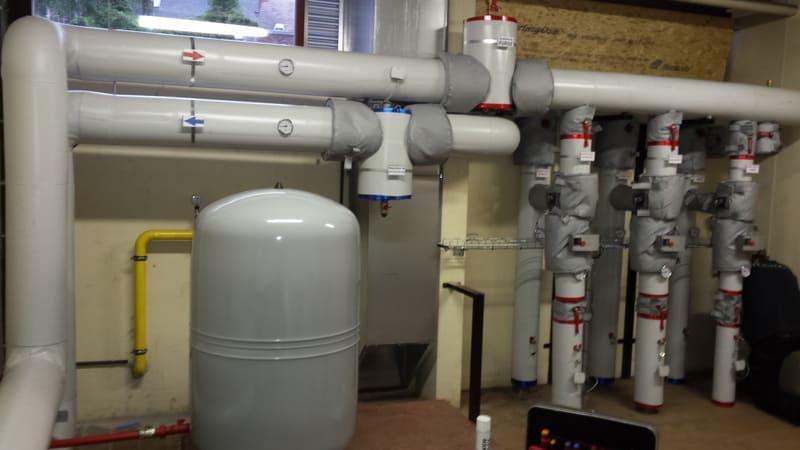 Réalisation d'un système de chauffage - Chauffagiste à Liège (Verlaine)