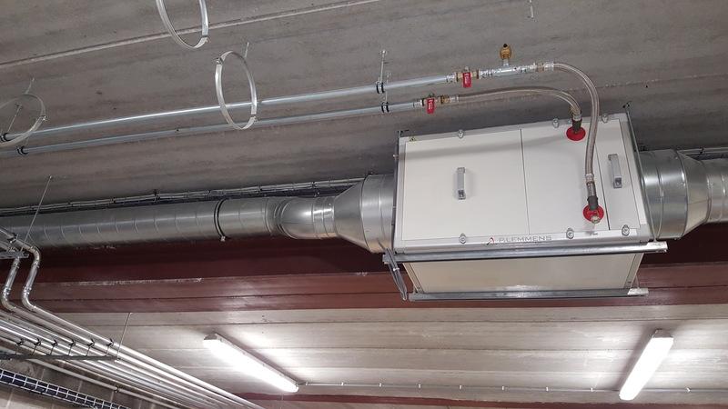 Réalisation - Pose d'un système de chauffage avec Jeanfils à Liège