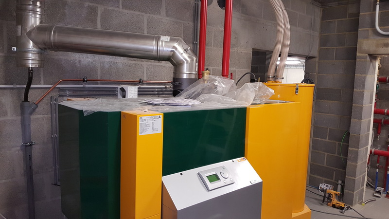 Installation de chauffage avec Jeanfils à Liège